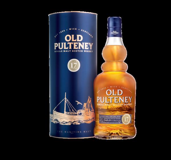Old Pulteney 17 Years тубус