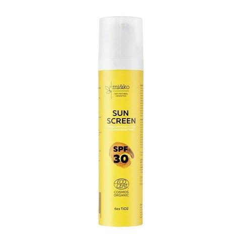 МиКо, Крем для лица и тела солнцезащитный Sun Screen SPF30, 100мл