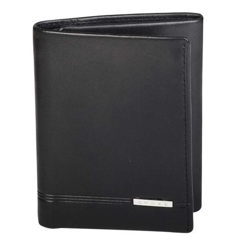 Кошелёк Cross Classic Century, кожа наппа, гладкая, чёрный, 8,5 х 2 х 10,5 см