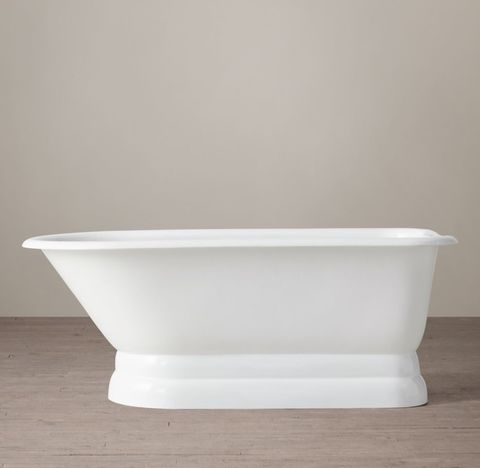 Classic Victorian Skirted Base Soaking Tub