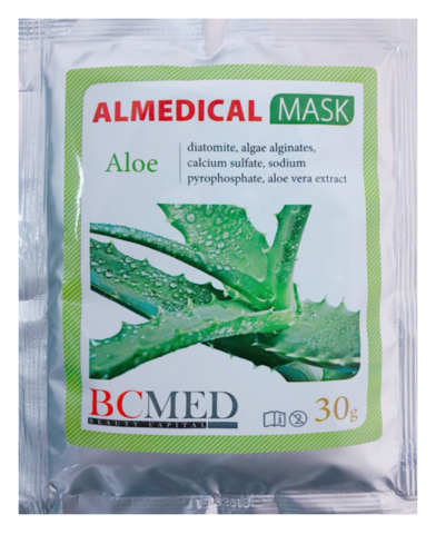 *Альгинатная маска (BCMED/Алоэ/30гр)