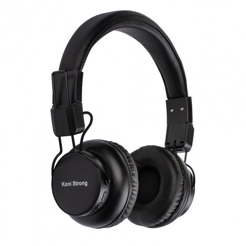 Наушники Bluetooth Koni Strong KS-F93, (BT5.0, 9H) black