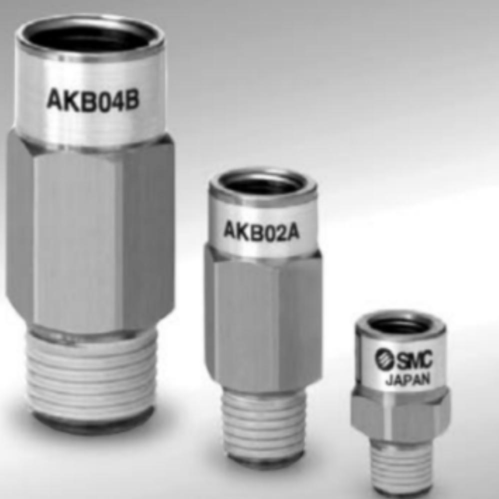 AKB01B-01S  Обратный клапан, R1/8