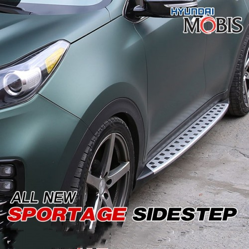 Боковые подножки GSC - KIA The SUV Sportage (MOBIS) Вставка решетки радиатора SS - KIA The SUV Sportage (AUTORIA) для KIA Sportage IV 2016 - 2pcs set car styling universal metal leafage plate decoration accessories for kia optima rio sorento sportage forte cadenza