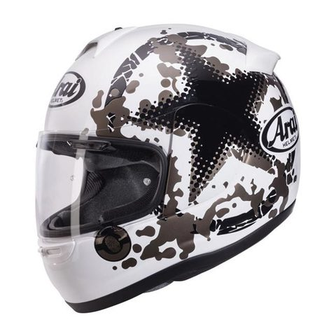 Arai Axces-II Comet White