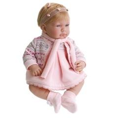 JUAN ANTONIO munecas Кукла Лана в розовом, озвученная, 42 см (3047P)