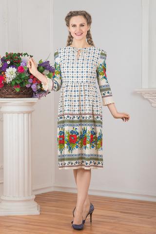 Платье льняное Квитка