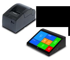 POS система MyPOS X10 с  Штрих-Лайт-01Ф с ФН 13 мес., с отрезчиком, быстрая печать чека.