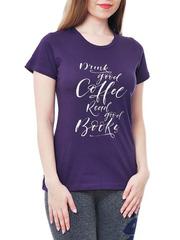 461134-29 футболка женская, фиолетовая