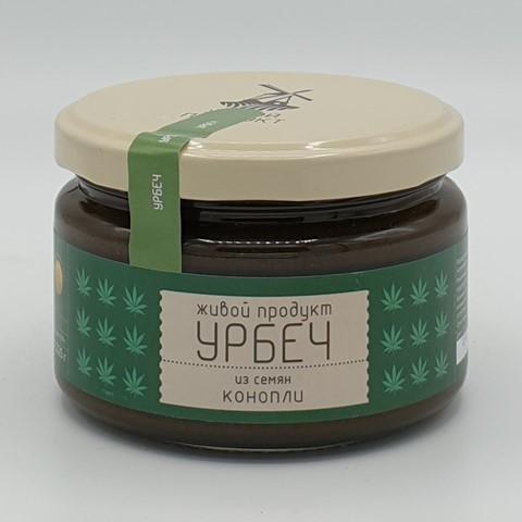 Урбеч из семян конопли ЖИВОЙ ПРОДУКТ, 225 гр