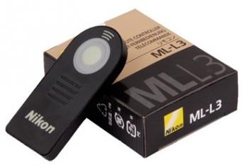 Пульт ДУ для Nikon ML-L3 Инфракрасный пульт ДУ для DSLR камер Nikon (как оригинал)