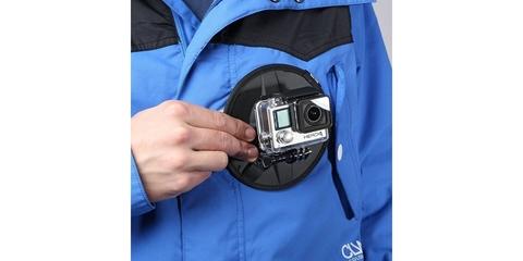 Гибкое магнитное крепление SP Flex Mount на одежде