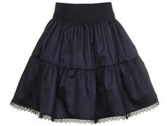 2234-2 юбка детская, темно-синяя