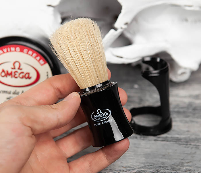 RAZ59.81818 Бритвенный набор, помазок и крем для бритья фото 05