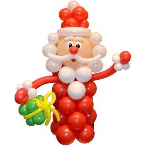 Дед мороз с подарком