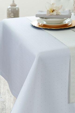 Скатерть 130x170 Petito белая от Curt Bauer