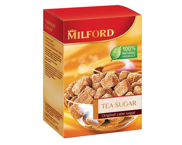 Тростниковый кусковой сахар Milford, 300 г