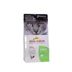 Корм для взрослых кошек, Almo Nature Functional Adult Anti-Hairball Chicken and Rice, контроль вывода шерсти с курицей и рисом