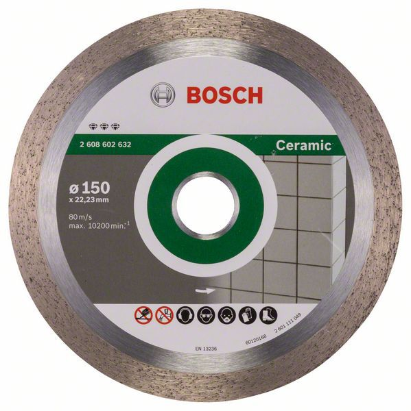 Алмазный диск Best for Ceramic 150-22,23 Bosch 2608602632