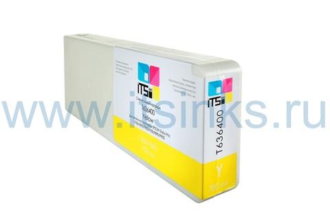 Картридж для Epson 7890/9890 C13T636400 Yellow 700 мл