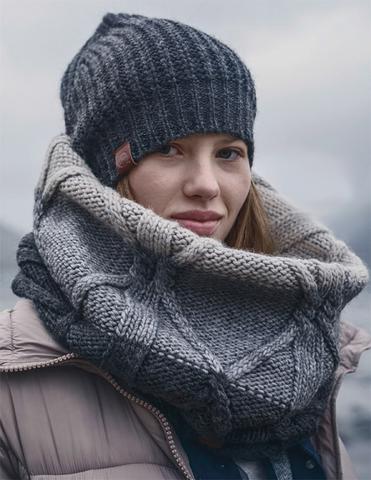 Модный шарф-труба Buff Braid Excalibur