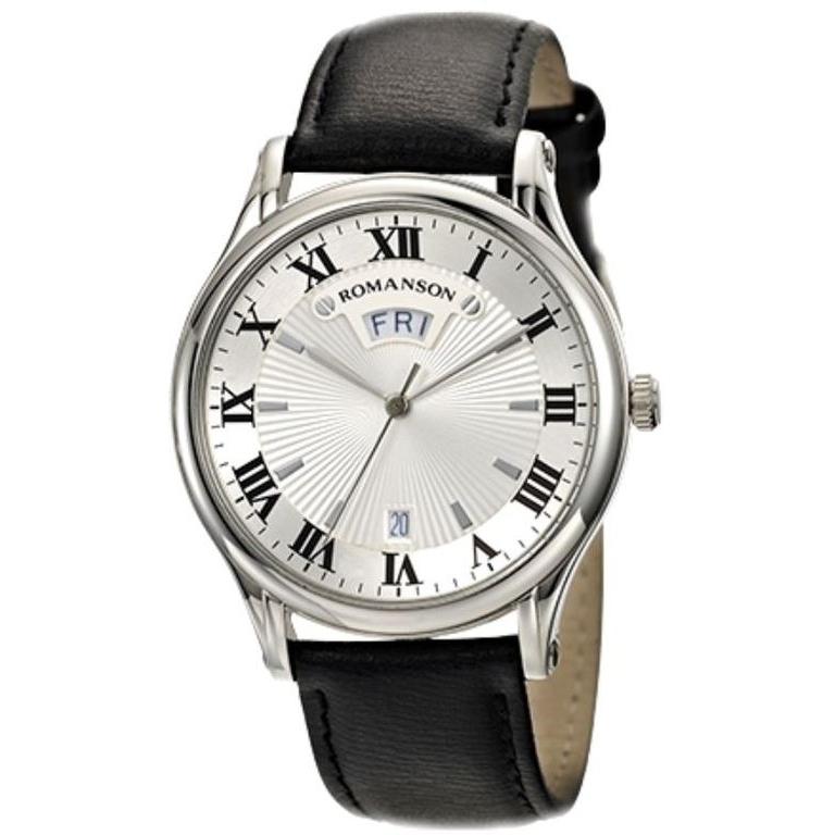 4e9fd147 Наручные часы Romanson TL 0393 MW(WH)- купить по цене 47200.0 в ...