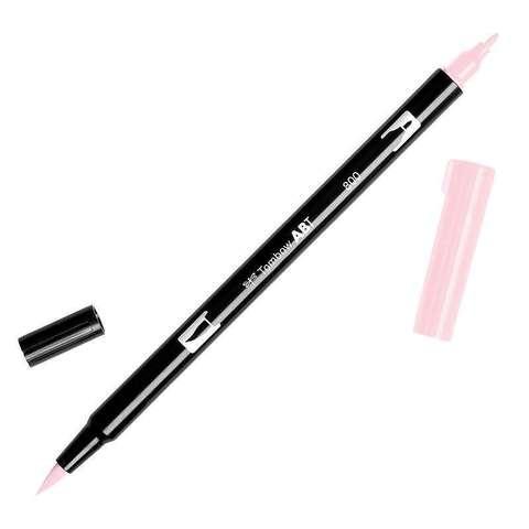 Маркер с двумя наконечниками Tombow Dual Brush Marker- Цвет 800 Baby Pink