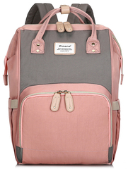 Сумка-рюкзак для Мам Picano 1816 Розовый + Серый