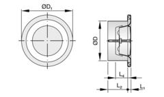 Trox LVS/200 дисковой диффузор