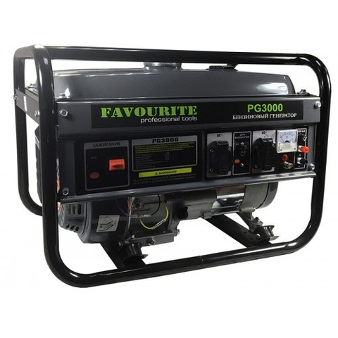 Бензиновый генератор Favourite PG 3000