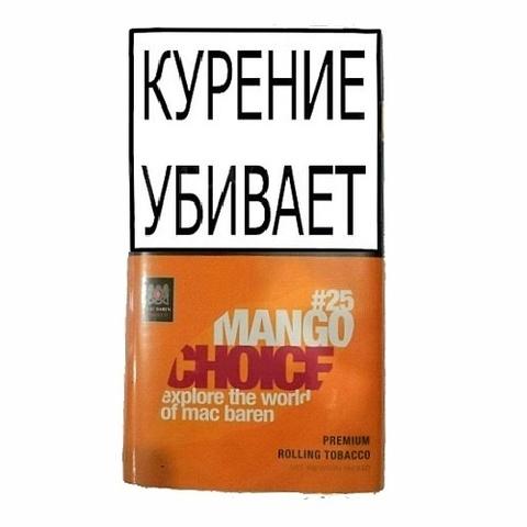 Табак M.B.сигарет. MANGO CHOICE (p40gr)