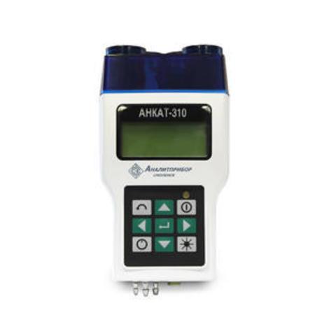 Переносной газоанализатор измерения параметров отходящих газов АНКАТ-310-02 (кислород (O2), угарный газ (CO), оксид азота (NO))