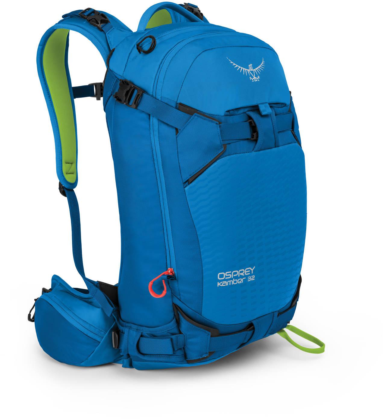 Рюкзаки для сноуборда Рюкзак сноубордический Osprey Kamber 32 Cold Blue Kamber_32_Side_Cold_Blue_web.jpg
