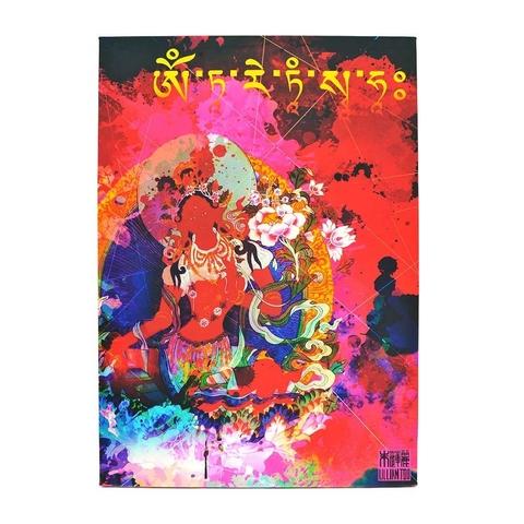Картина красная Тара