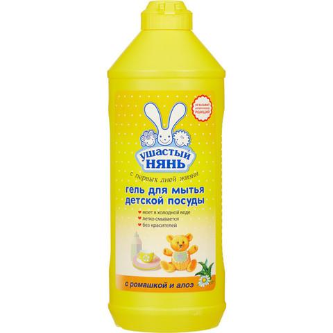 Средство для мытья посуды детское УШАСТЫЙ НЯНЬ с ромашкой 500мл гель