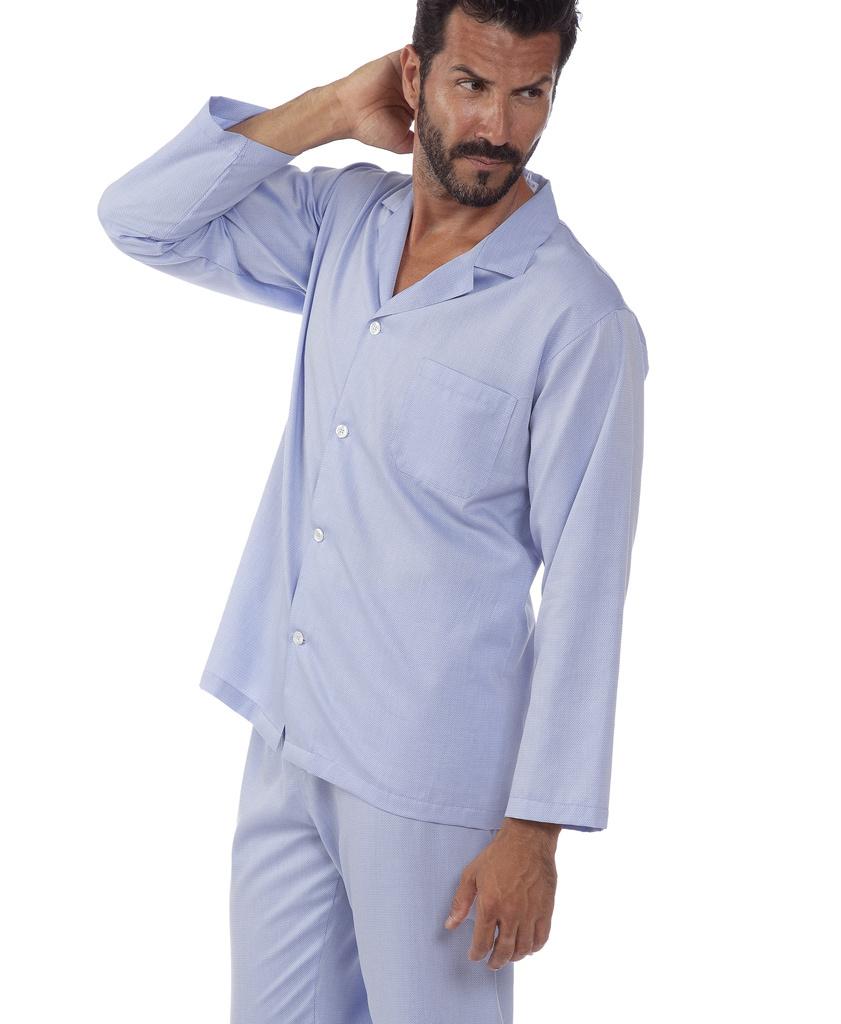 Классическая мужская пижама B&B