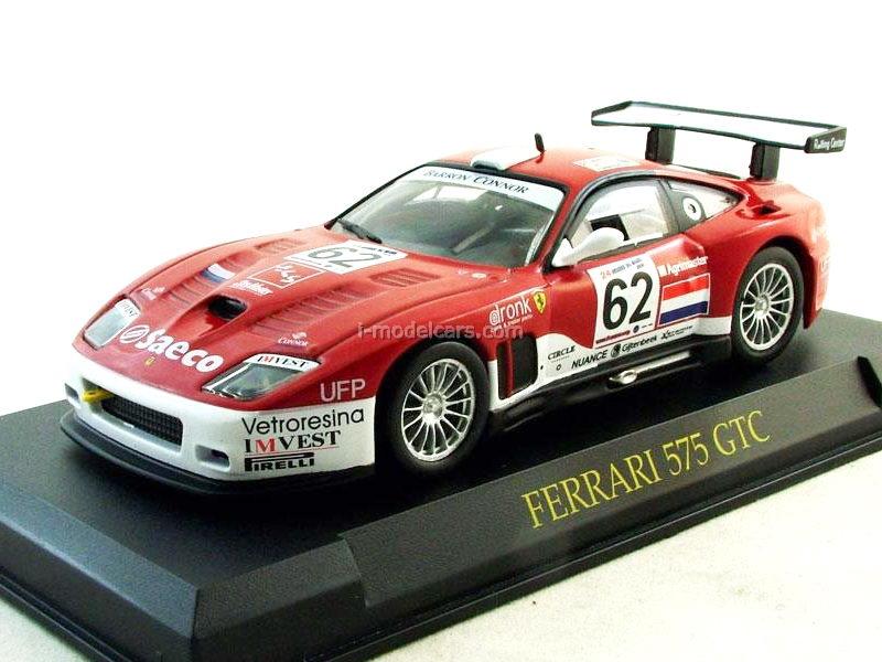 Model Cars Ferrari 575 Gtc 2004 Red 143 Eaglemoss Ferrari