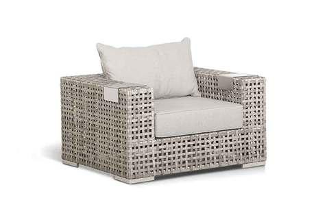 Кресло из ротанга с подушкой Тито