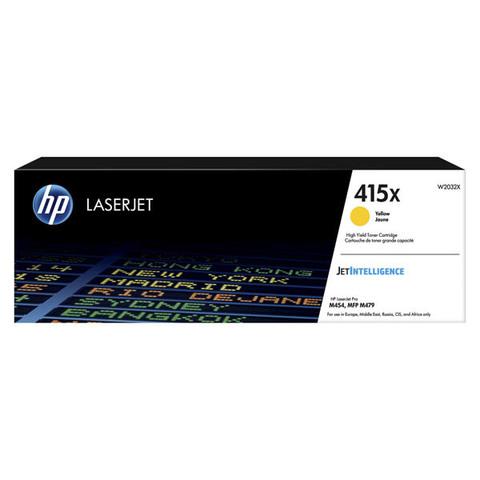 Kартридж желтый 415X для HP LaserJet M454, MFP M479 (6K)