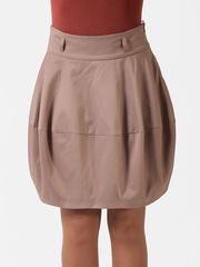 0553-8 юбка бежевая