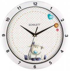 Часы настенные Scarlett SC - WC1005I интерьерные