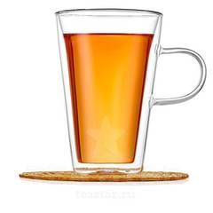 """Кружка-стакан с двойными стенками """"Айриш"""", 400 мл"""