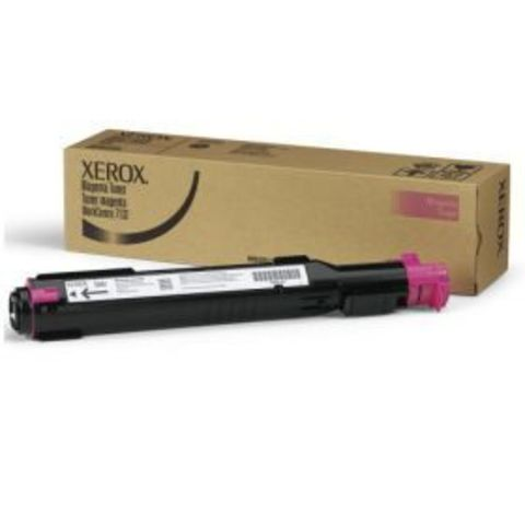 Тонер пурпурный (magenta) для Xerox WC 7132/7232/7242 (006R01272)
