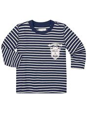 BAC003234 Джемпер для мальчиков, синий меланж
