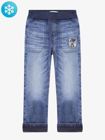 BWB000012 джинсы для мальчиков утепленные, медиум