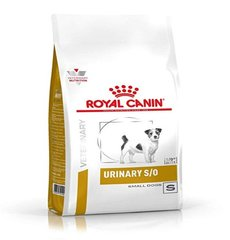 Корм для собак мелких пород, Royal Canin Urinary S/O Small Dog USD 20, при лечении и профилактике мочекаменной болезни