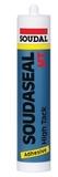 Клей-герметик на основе MS Polymer Соудасил  HT белый 290мл (12шт/кор)