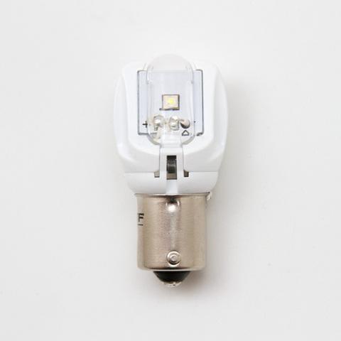 Светодиодная лампа MTF P21W красная