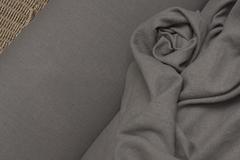Лён фактурный смягченный цвет МОККО