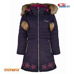 Пальто для девочки зима Gusti Boutiqe 6461 Eclipse